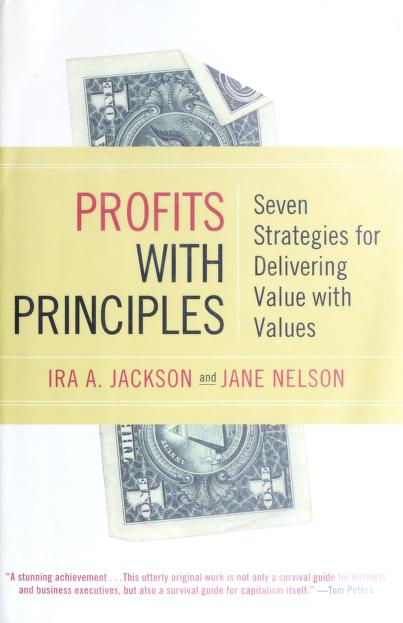 Profits with principles by Ira A. Jackson